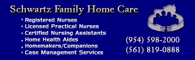 For Home Health Care in South Florida Call (954) 598-2000